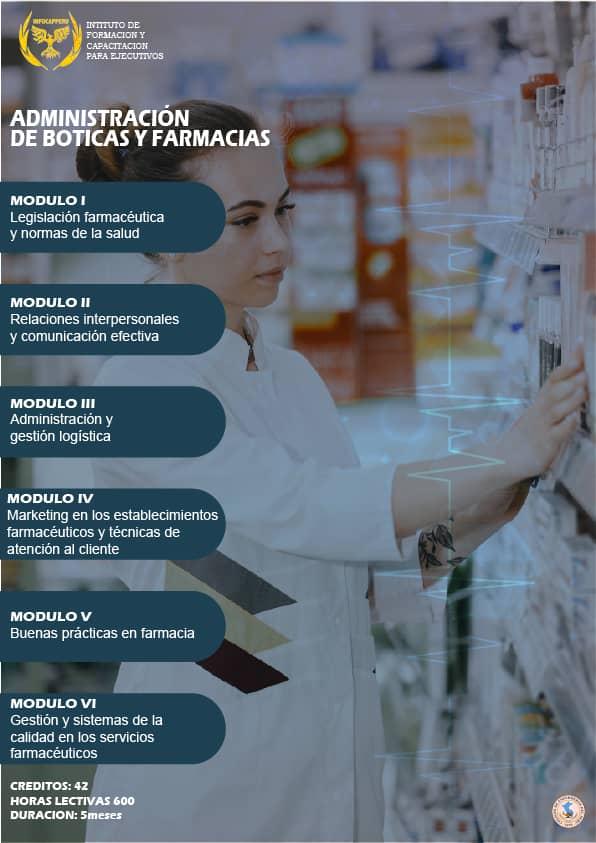 Administración de Boticas y Farmacias