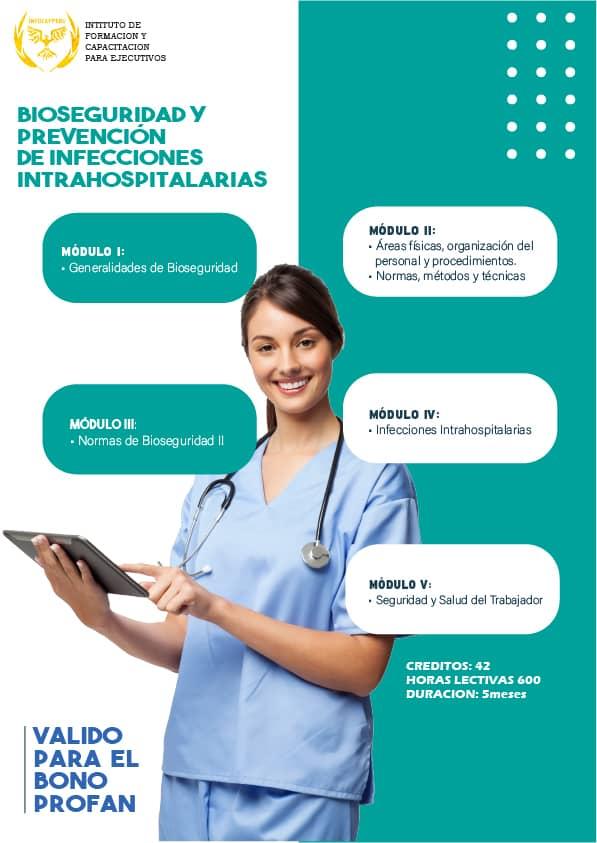 Bioseguridad y Prevención de Infecciones Intrahospitalarias
