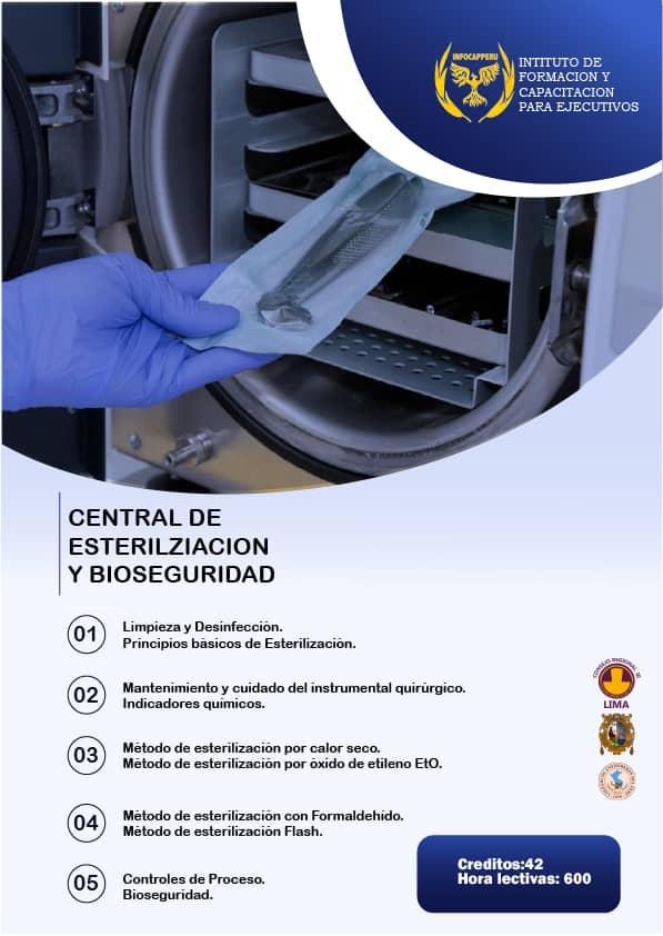 Central de Esterilización y Bioseguridad