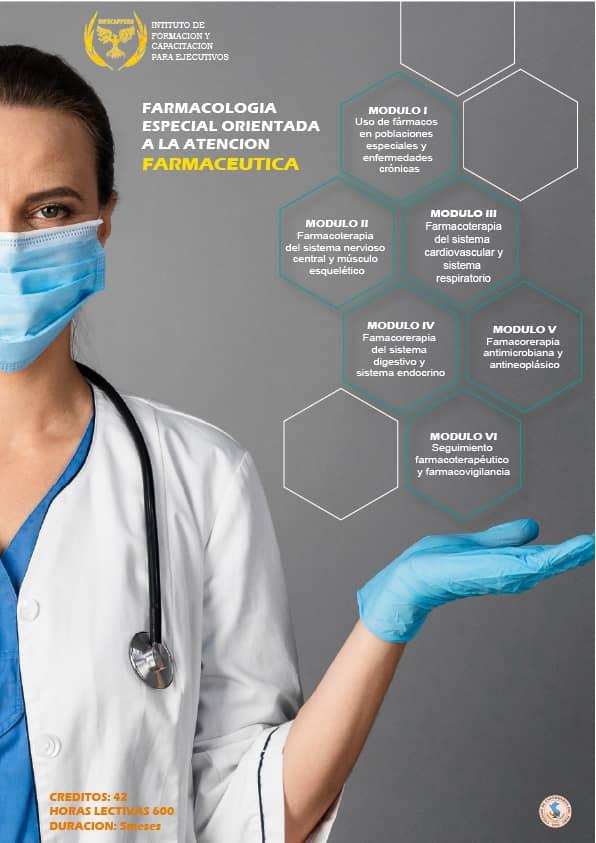Farmacología Especial Orientada a la Atención Farmacéutica