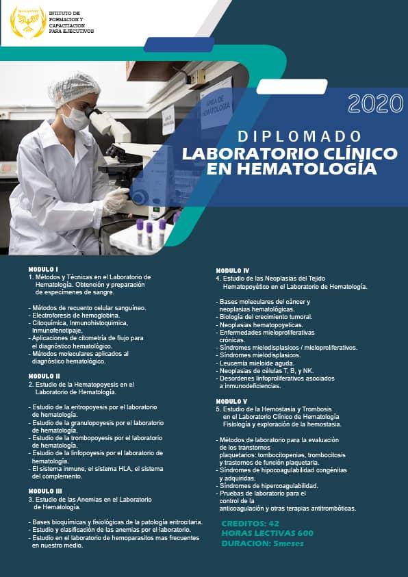 Laboratorio Clínico en Hematología