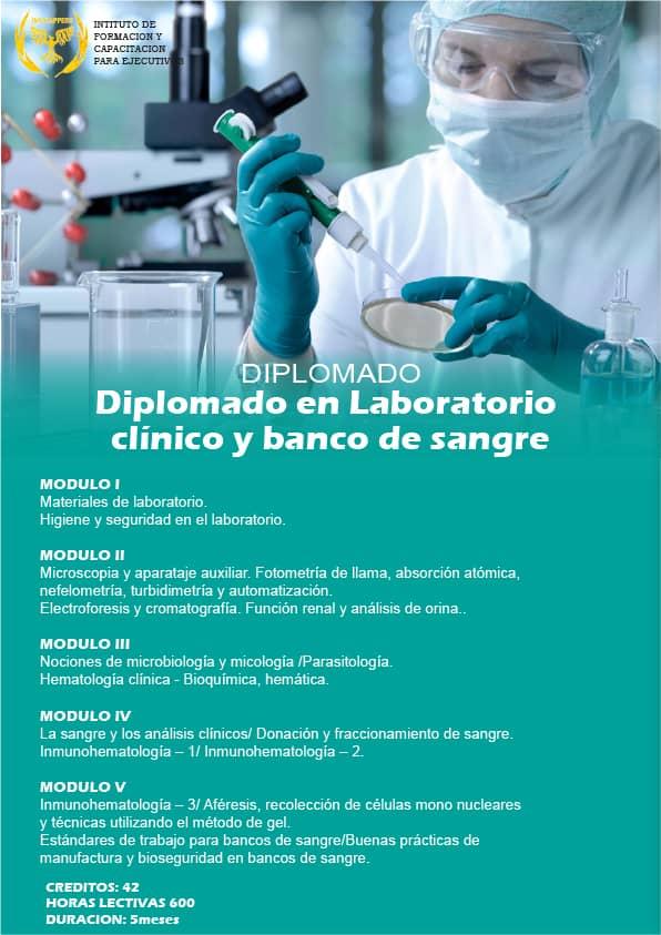 Laboratorio Clínico y Banco de Sangre