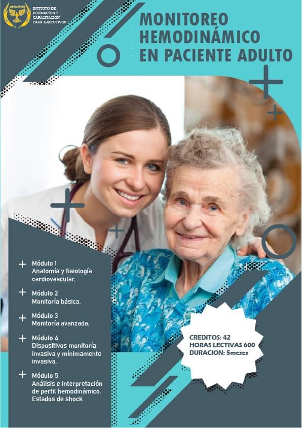 Monitoreo Hemodinámico en Paciente Adulto