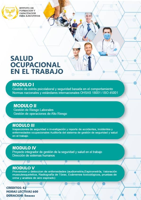 Salud Ocupacional en el Trabajo