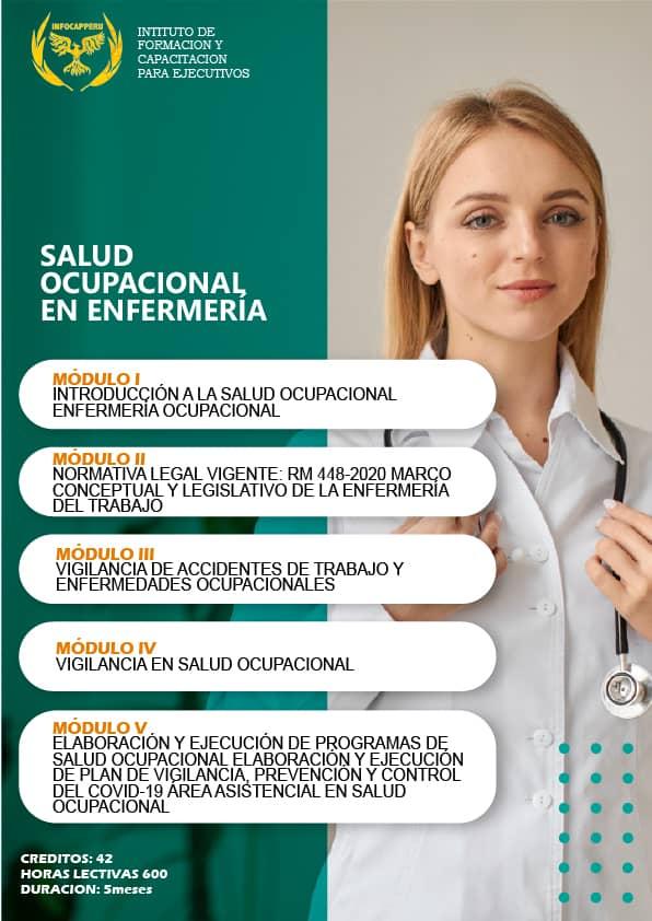 Salud Ocupacional en Enfermeria