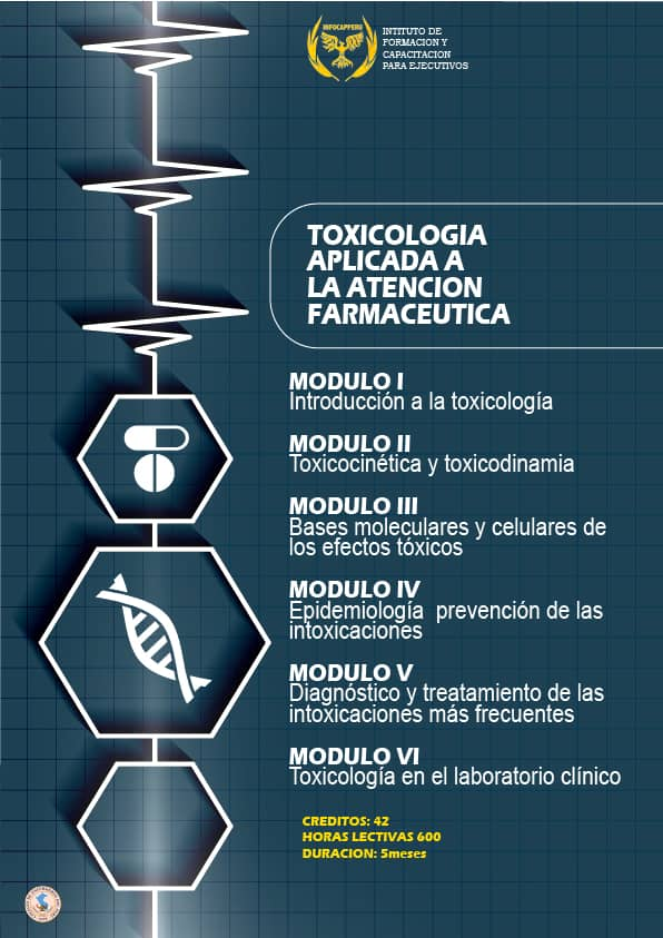 Toxicología Aplicada a la Atención Farmacéutica